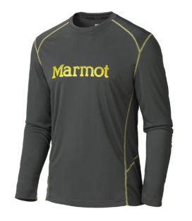 Marmot Windridge With Graphic LS长袖速干T