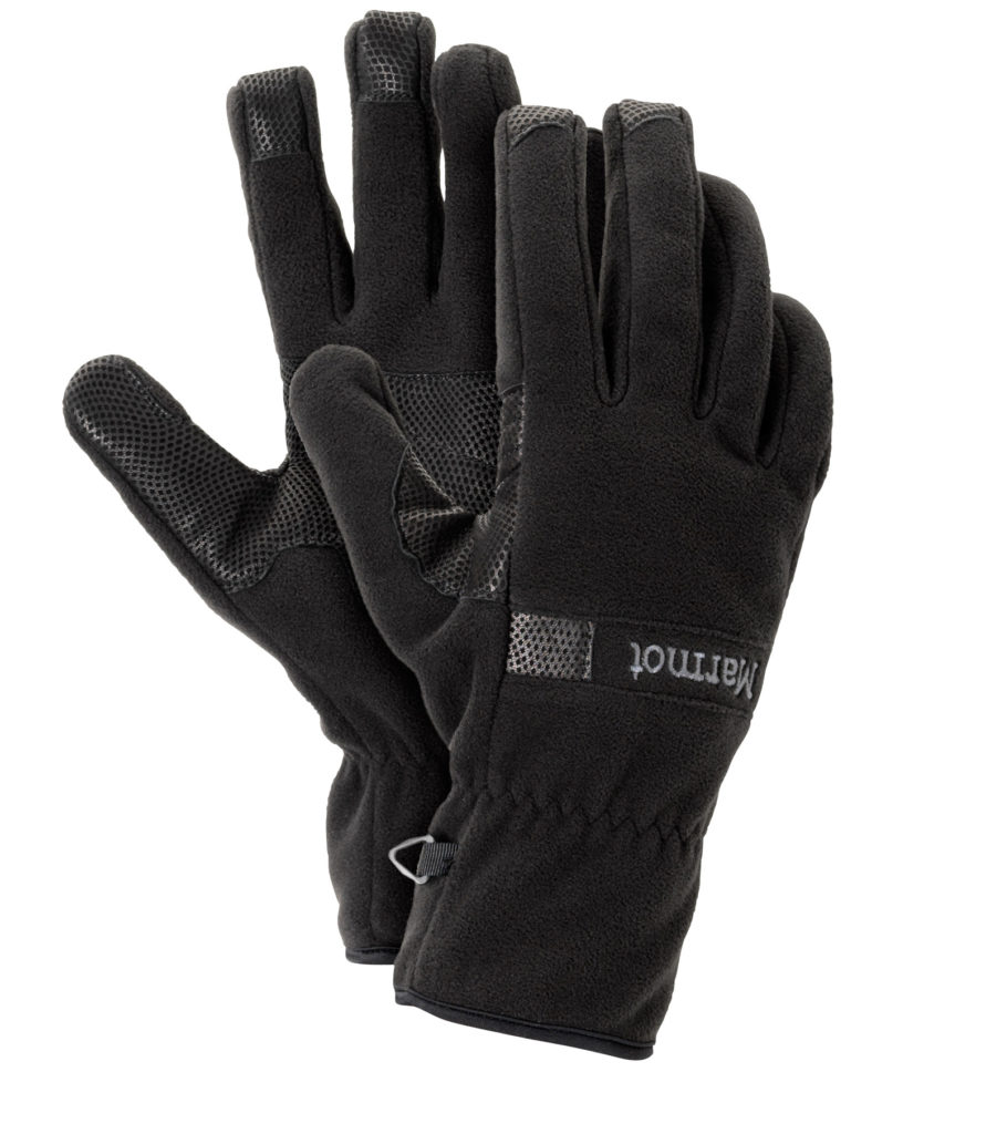 Marmot Windstopper Glove 抓绒手套