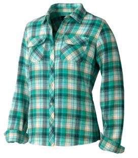 Marmot Wms Bridget Flannel LS 长袖衬衫