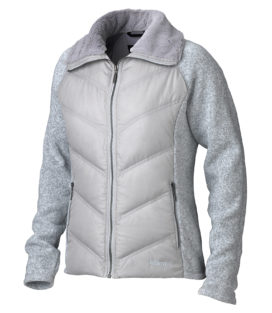 Marmot Wms Thea Jacket 开衫抓绒+羽绒拼接